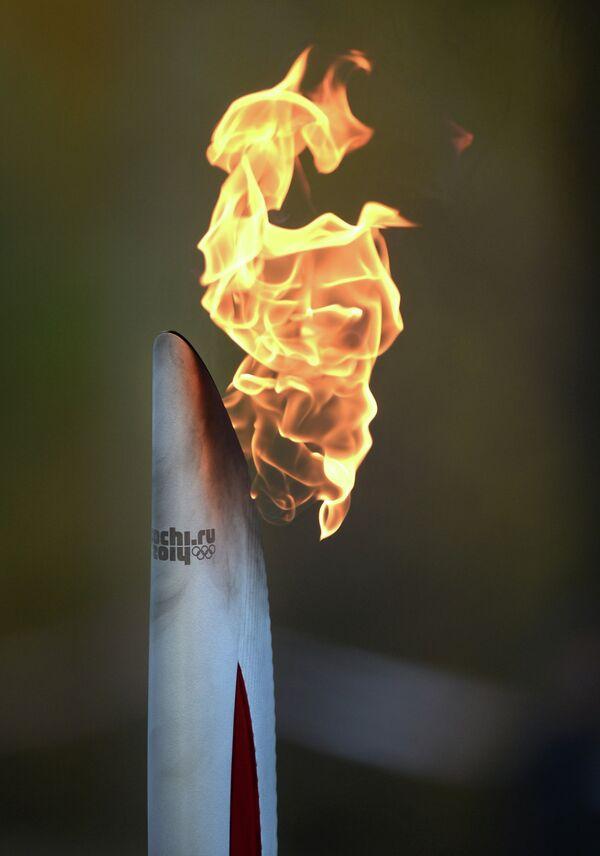 Эстафета Олимпийского огня. Смоленск