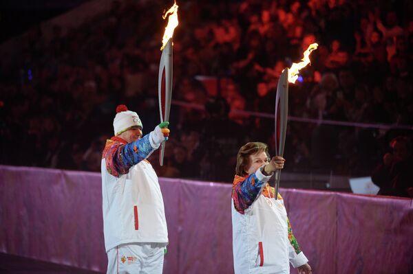 Эстафета Олимпийского огня. Ярославль