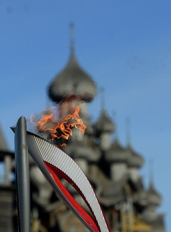 Факел олимпийского огня
