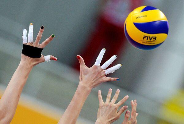 Волейболистки