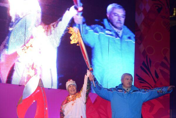 Любовь Егорова (слева) и Георгий Полтавченко