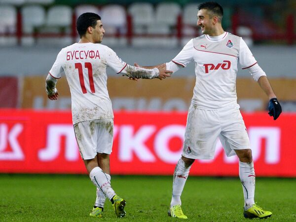 Мбарк Буссуфа (слева) и Александр Самедов