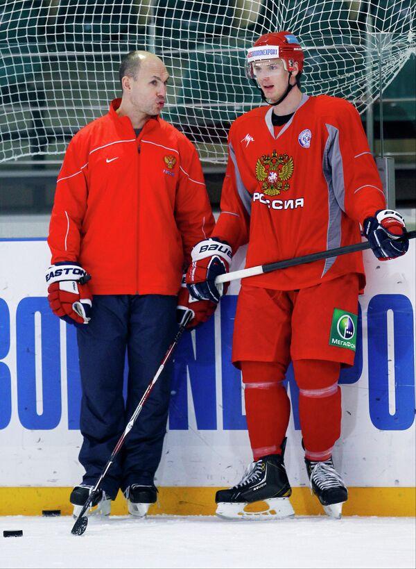Дмитрий Юшкевич (слева) и Юрий Александров
