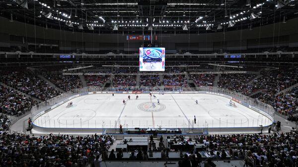 Гала-матч любительского хоккея в Сочи