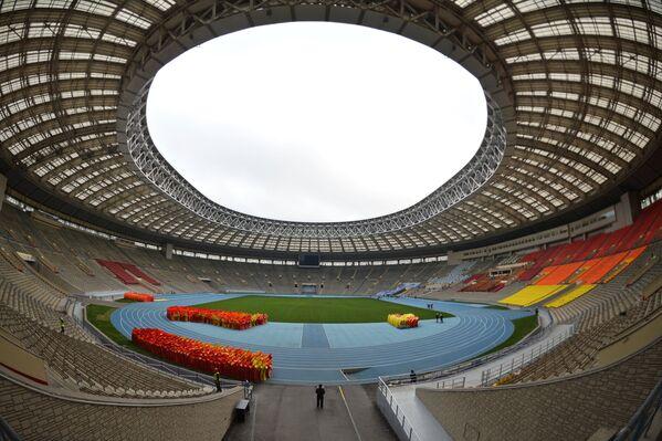 Реконструкция стадиона Лужники к ЧМ-2018 по футболу