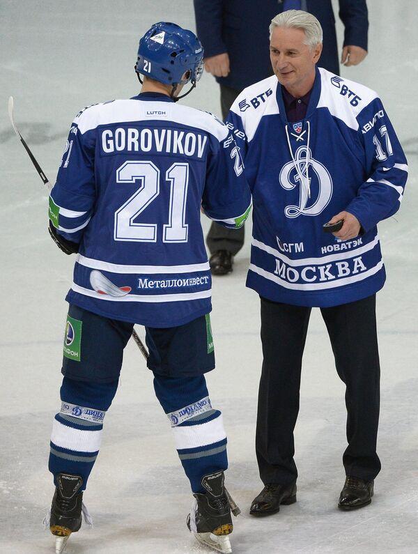 Константин Горовиков (слева) и Зинэтула Билялетдинов