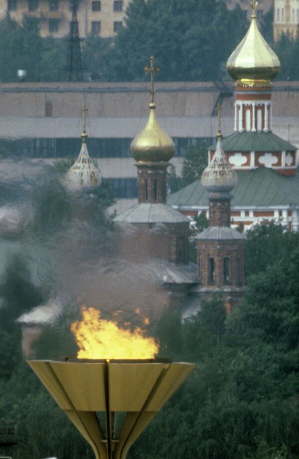 Огонь Олимпиады-80