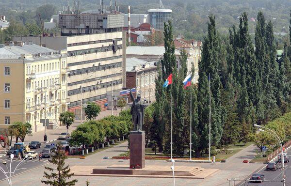Виды Тамбова. Площадь Ленина