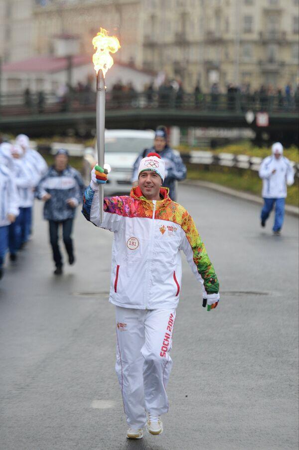 Олимпийский чемпион по фигурному катанию Алексей Урманов