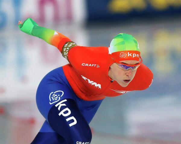 Голландская конькобежка Ирен Вюст