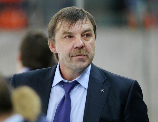 Главный тренер Динамо Олег Знарок