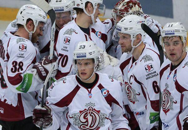 Хоккеисты рижского Динамо