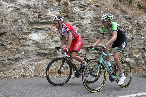 Велогонщик Катюши Егор Силин