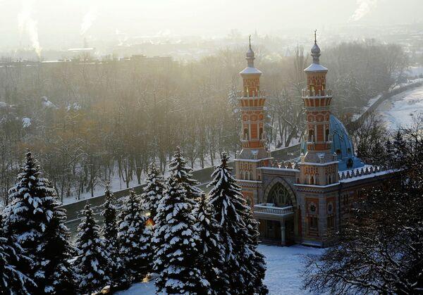Мечеть в центре города Владикавказа