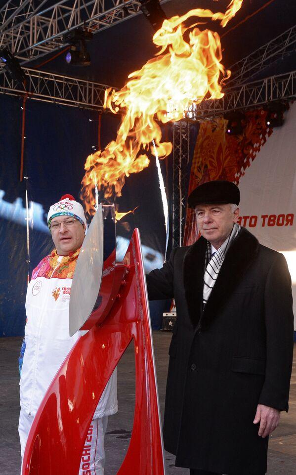 Валерий Пономаренко (слева) и Аслан Тхакушинов