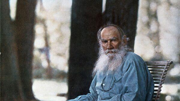 Фотография Льва Толстого в Ясной Поляне