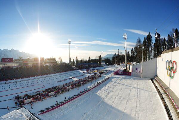 Комплекс для соревнований по лыжным гонкам и биатлону Лаура