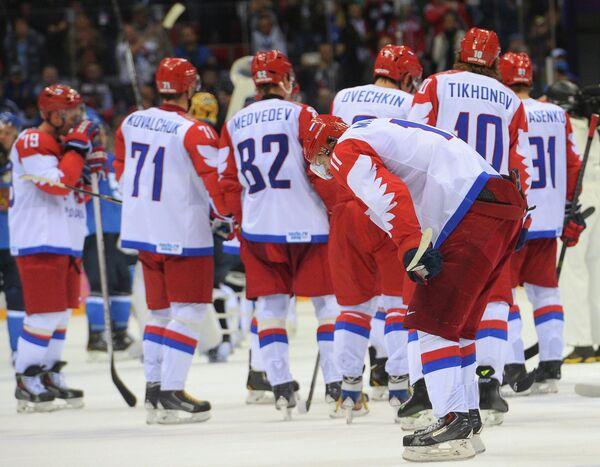 Олимпиада 2014. Хоккей. Мужчины. Финляндия - Россия