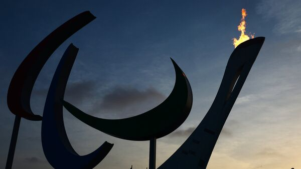 Символ Паралимпийских игр Агитос