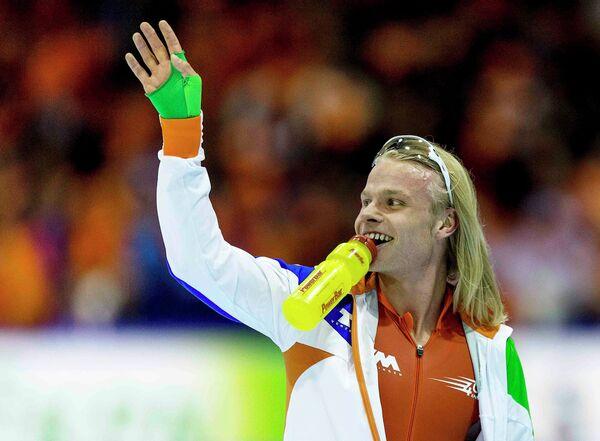Голландский конькобежец Кун Вервей
