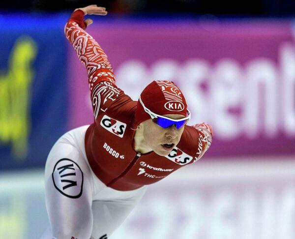 Российская конькобежка Юлия Скокова