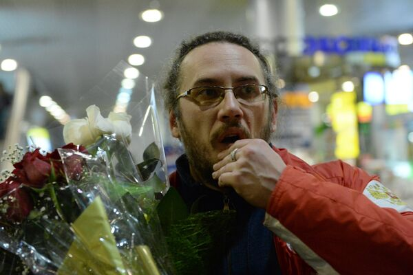 Cтарший тренер мужской сборной России по керлингу Василий Гудин