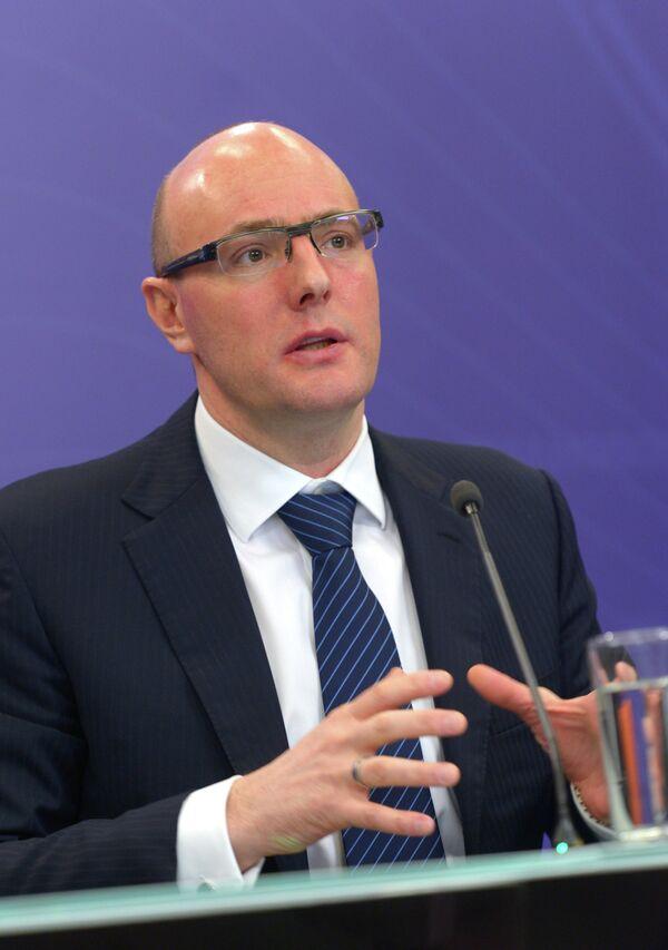 Президент Оргкомитета Сочи 2014 Дмитрий Чернышенко