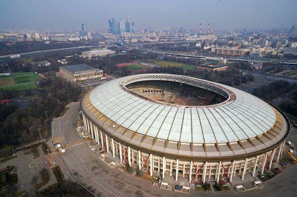 Внешний вид стадиона Лужники