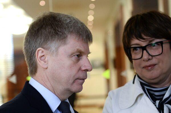 Николай Толстых и Ольга Смородская