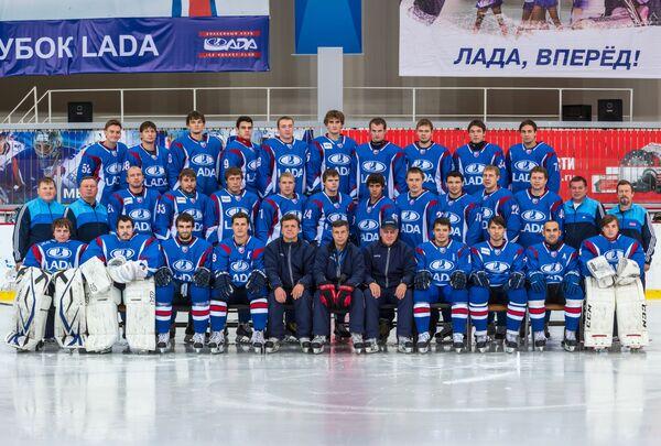 Лада официально принята в состав КХЛ, где будет выступать со следующего сезона