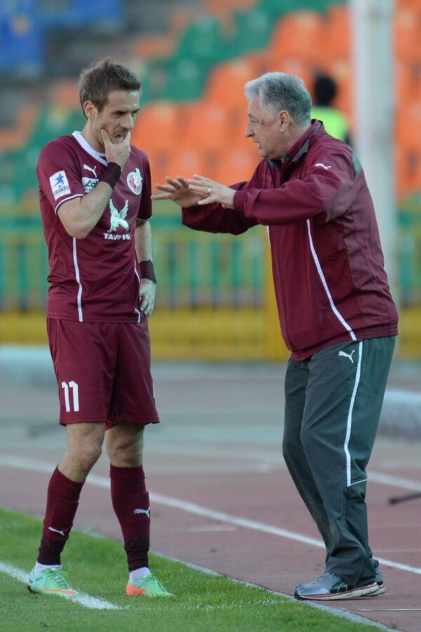 Марко Девич и Ринат Билялетдинов