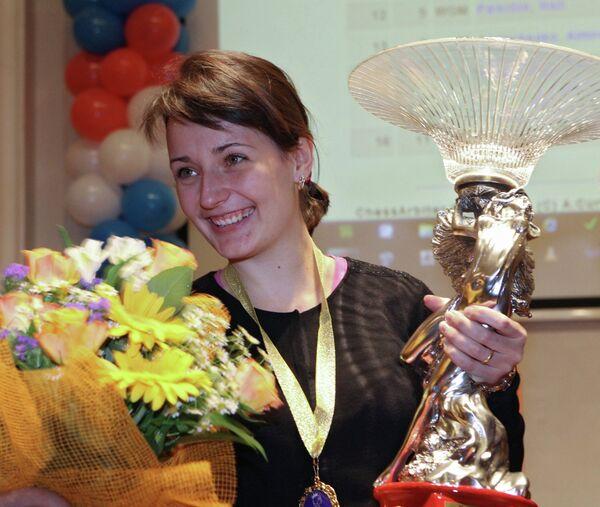Украинская шахматистка Катерина Лагно