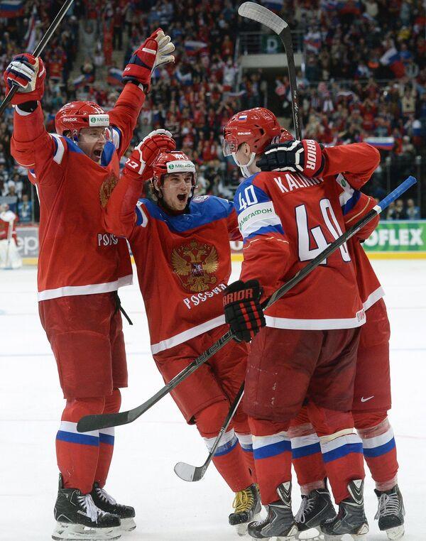 Антон Белов, Егор Яковлев и Сергей Калинин (слева направо)