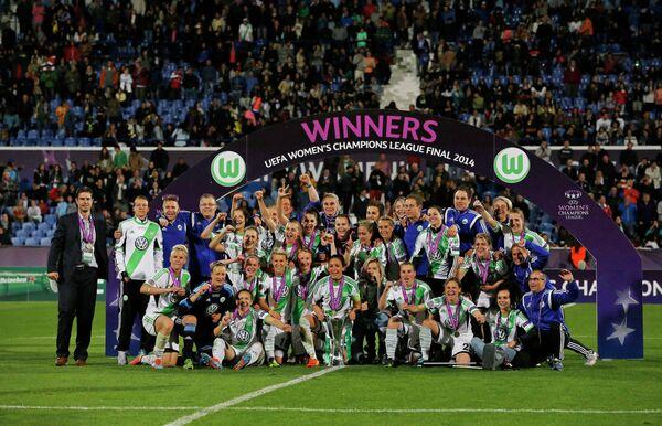 Футболистки Вольфсбурга