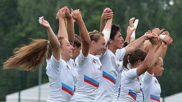 Российские регбистки