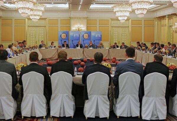 Заседание совета Единой лиги ВТБ