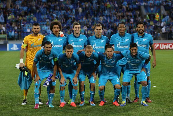Игроки футбольного клуба Зенит