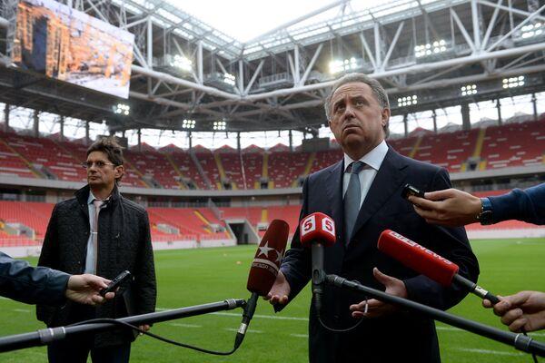 Леонид Федун (слева) и Виталий Мутко