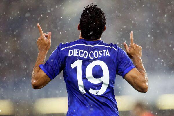 Нападающий Челси Диего Коста