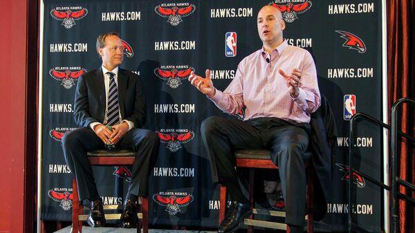 Дэни Ферри (справа) и Майк Буденхольцер