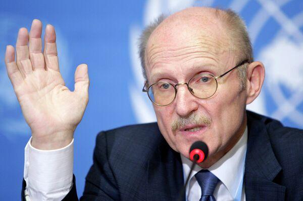 Представитель генсека ООН по вопросам спорта во имя развития и мира Вильфридом Лемке