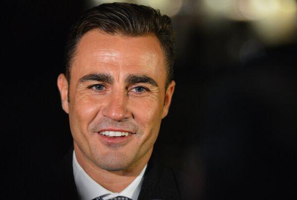 Лучший футболист мира 2006 года Фабио Каннаваро