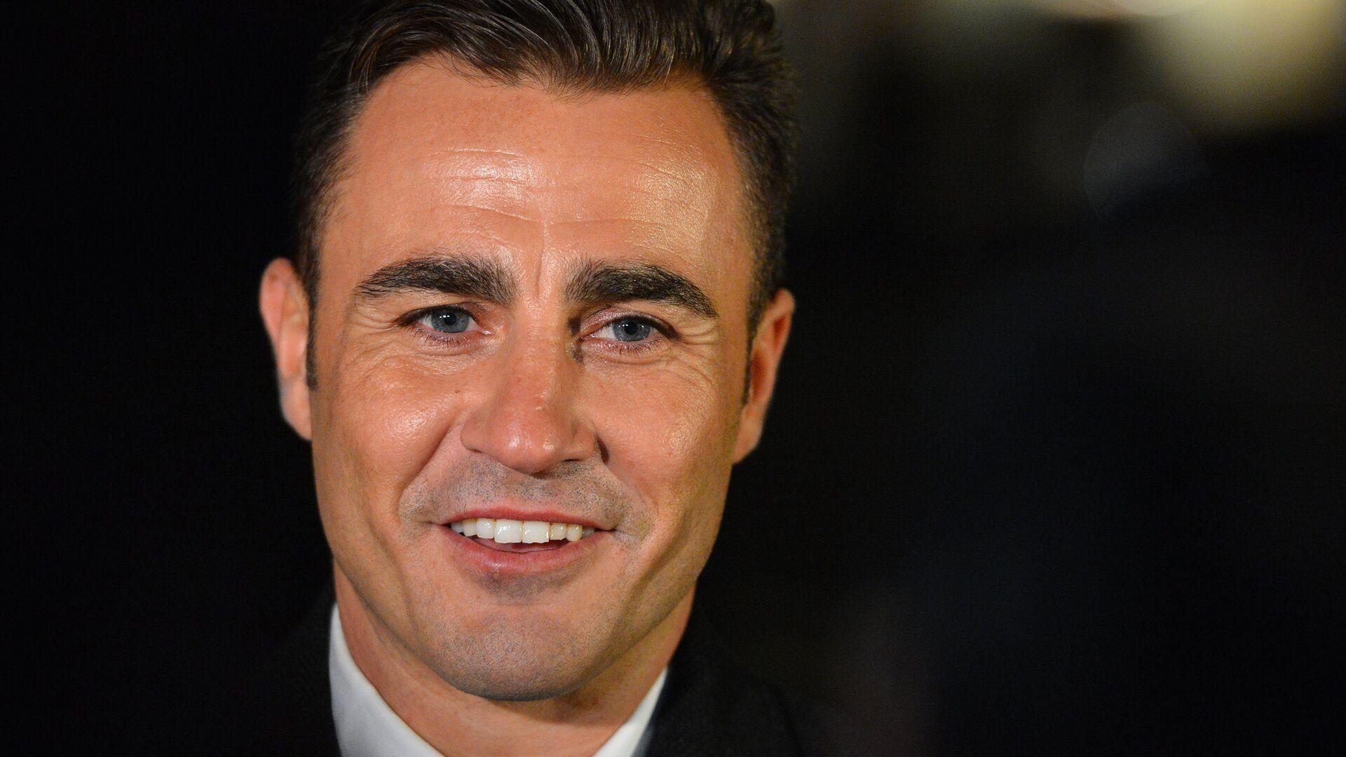Лучший футболист мира 2006 года Фабио Каннаваро - РИА Новости, 1920, 28.09.2021
