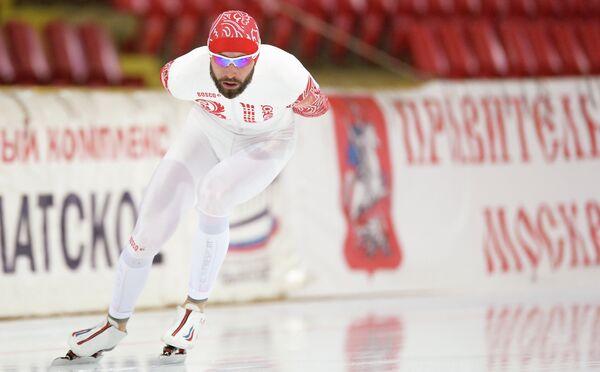 Конькобежный спорт. Александр Румянцев