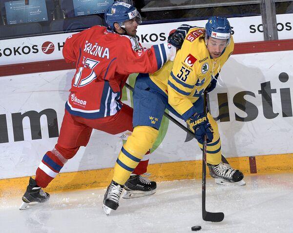 Владимир Свачина (слева) и Андреас Турессон