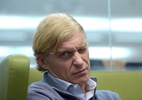 Руководитель велокоманды Tinkoff-Saxo Олег Тиньков.