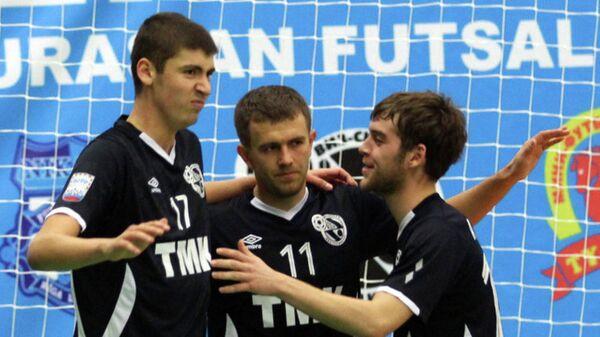 Игроки мини-футбольного клуба Синара