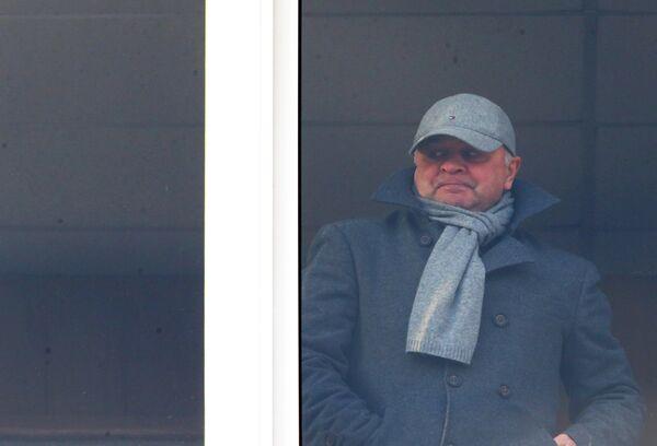 Главный тренер Ростова Игорь Гамула, дисквалифицированный КДК РФС на 5 матчей за расистские высказывания