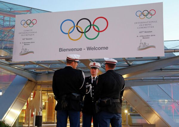 Заседание исполкома и 127-я сессия Международного олимпийского комитета (МОК) в Монако