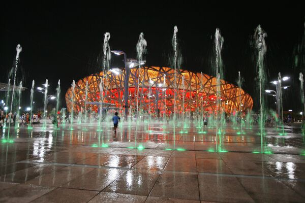 Национальный стадион Птичье гнездо. Пекин